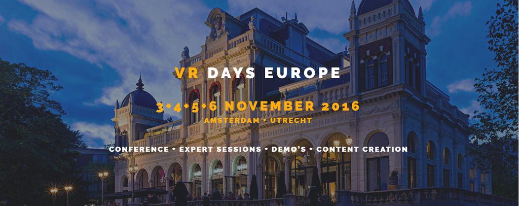 VR Days Amsterdam